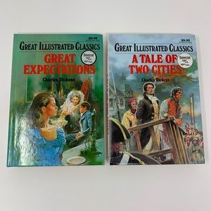 🌟 2 Great Illustrated Classics by Charles Dickens